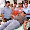 MVD organises Blood donation camp, Accident Action Management programme