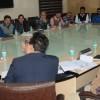 Advisor Sharma reviews functioning of Finance, allied Deptts