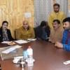 Advisor Vyas meets various public delegations in Srinagar
